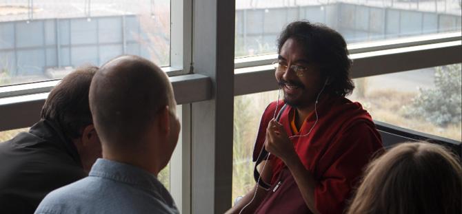 Yongey Mingyur Rimpotché et les Instructeurs de Tergar. Photo: Tergar International