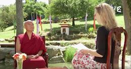 Mingyur Rinpoché sur France2