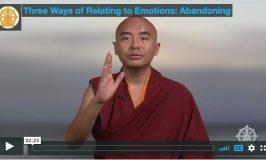 Enseignement mensuel : 3 façons de gérer les émotions – abandonner