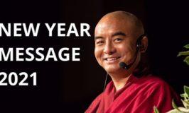 Message de nouvel an de Mingyur Rinpoche.
